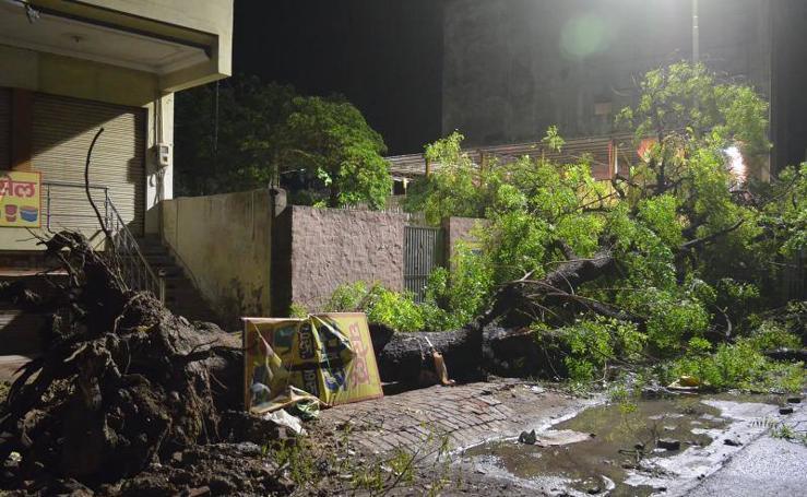 Las tormentas asolan el norte de la India
