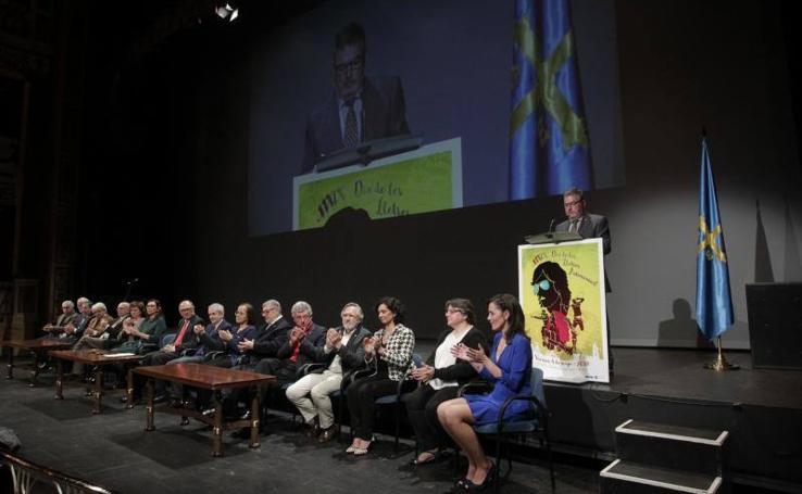 Acto central del Día de les Lletres en el Campoamor