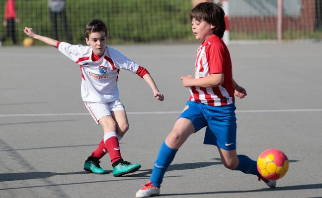 El Veriña y el Sporting ganan antes de verse las caras el sábado en Lloreda