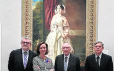 El Prado restaura y cuelga el retrato de Madrazo que regaló Alicia Koplowitz
