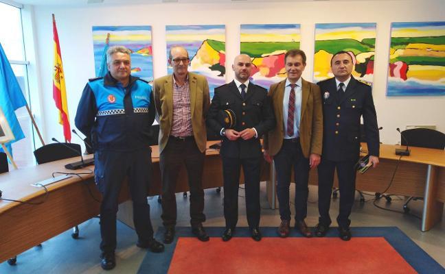 Santiago Cañal, nuevo jefe de la Policía Local de Gozón