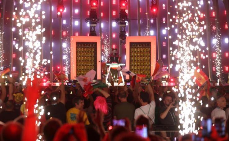 La primera semifinal de Eurovisión 2018, en imágenes