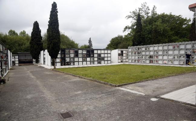 La parroquia de San Félix prepara nuevas mejoras en el cementerio de Lugones