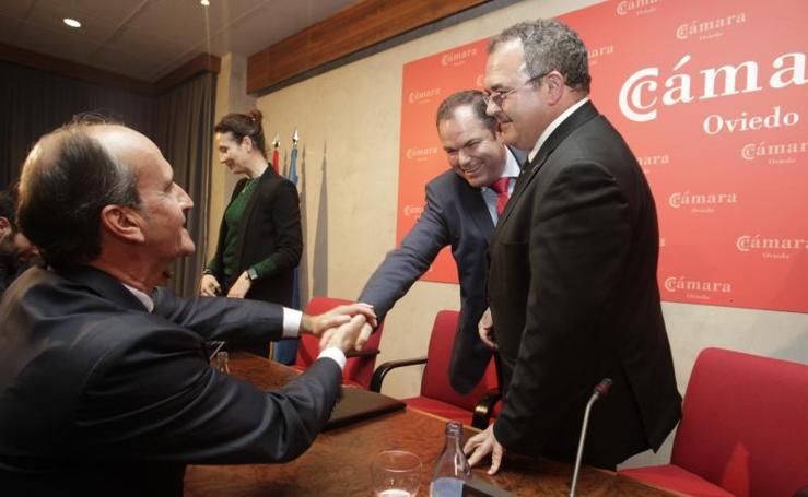 Carlos Paniceres, nuevo presidente de la Cámara de Oviedo