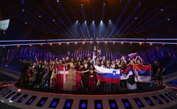 Las mejores imágenes de la segunda semifinal del 63º Festival de la Canción de Eurovisión