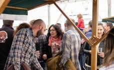 Día grande de la Folixa de la sidra en Ribadesella