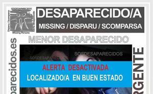 Localizada en buen estado la gijonesa de 15 años desaparecida desde el 2 de mayo