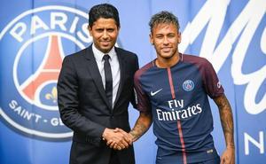 Neymar «se quedará» en el PSG con una seguridad del «2.000 por cien»