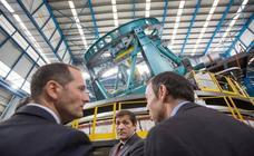Presentación del mayor telescopio del mundo, construido en las instalaciones avilesinas de Asturfeito