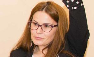 La socialista Vanesa González presenta su candidatura a la secretaría de Cangas