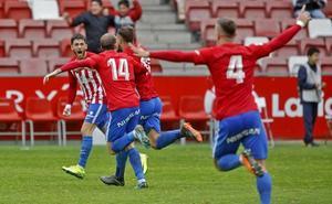 El Cornellá, primer rival del Sporting en la batalla por el ascenso a Segunda