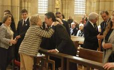 Emotiva despedida a Luis Alvargonzález