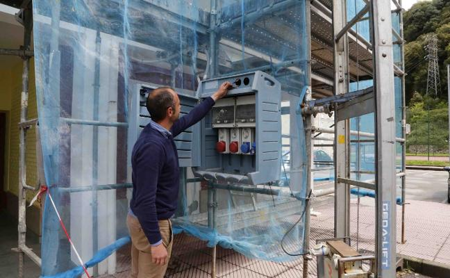 Roban el cuadro eléctrico instalado para realizar las obras del Cobayu