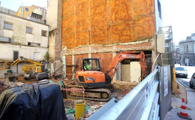 Arrancan las obras del edificio de viviendas de lujo en Argüelles, 19