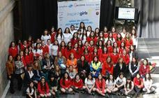 Alumnas del Codema abren la primera sesión del 'Inspiring Girls'
