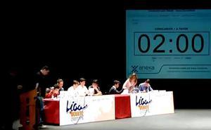 Final de la I Liga de Debate Escolar Municipal de Gijón