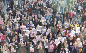 El feminismo vuelve a la calle para pedir fondos contra la violencia machista