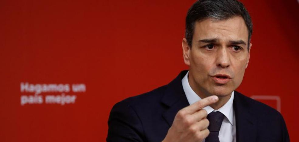 Sánchez aboga por «actualizar» el delito de rebelión