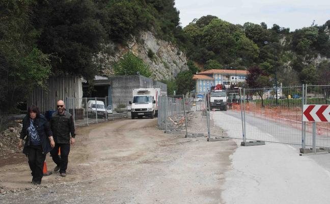 Las obras de la avenida Tito Bustillo «van a buen ritmo», dice el Ayuntamiento
