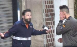 500.000 euros de fianza para el youtuber que llamó «caranchoa» a un repartidor
