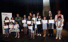 Niños críticos premiados en Feten 2018