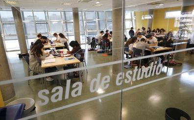 Cinco salas de estudio funcionan las 24 horas los fines de semana