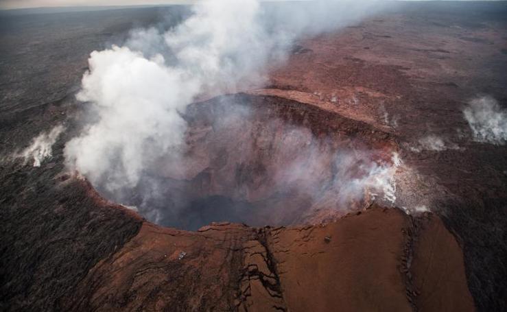 Las espectaculares imágenes que deja la erupción del volcán Kilauea