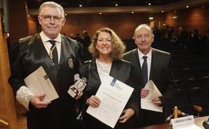 El Colegio de Abogados de Oviedo nombra colegiado honorario al Presidente del Tribunal Superior de Justicia de Asturias