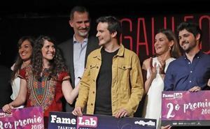 La biotecnóloga asturiana Raquel Medialdea, premiada en un concurso de monólogos científicos