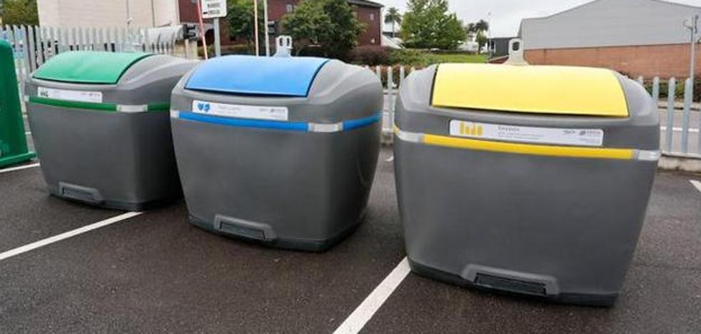Cada gijonés recicló en 2017 una media de 115,8 kilos de residuos