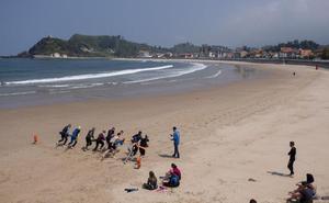Ribadesella ve «muy escasa» la ayuda del Principado para el salvamento en playas