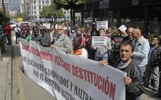 Protesta de armadores en la Junta