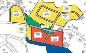 Vegasol construirá 160 viviendas en Cabueñes a cambio de suelo para ampliar el hospital
