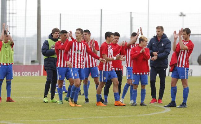 El Sporting defiende su renta en Zubieta