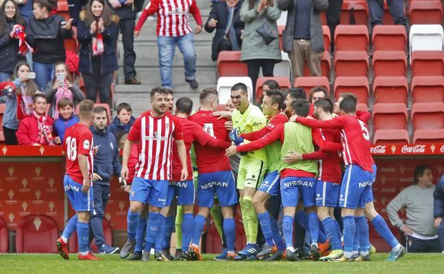 El Sporting B abre la puerta de embarque hacia Segunda División