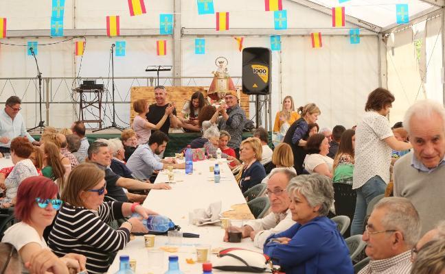 Dos jornadas de fiesta y gastronomía para los vecinos de El Forcón y La Curtia