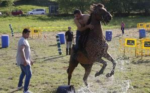 Desafíos a caballo en El Peral, en Ribadedeva