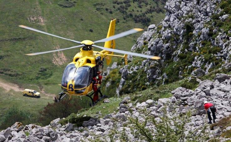 Formación de médicos rescatadores en Asturias