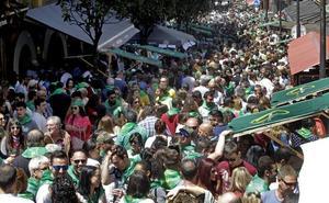 Miles de sidreros se dan cita en la Preba de Oviedo