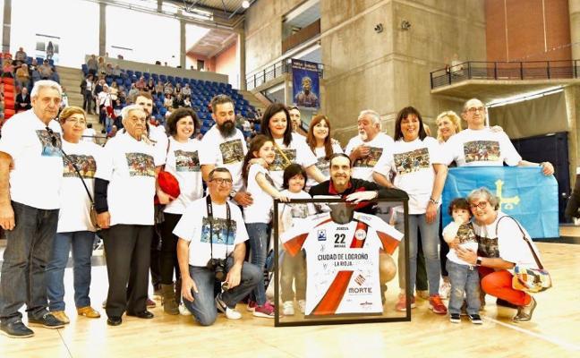 Despedida en familia de Rubén Garabaya