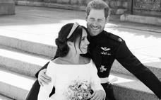 Los duques de Sussex publican tres fotografías oficiales de su boda
