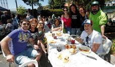 Oviedo celebra el Martes de Campo en una jornada veraniega