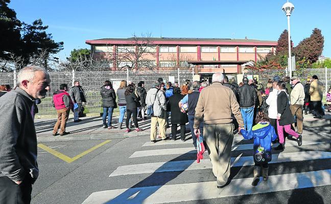Los colegios de Salinas y Campiello aumentan las reservas de tres años