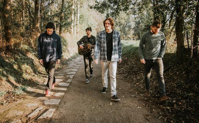 Gethere, única banda asturiana en la final del concurso EdP Live Bands