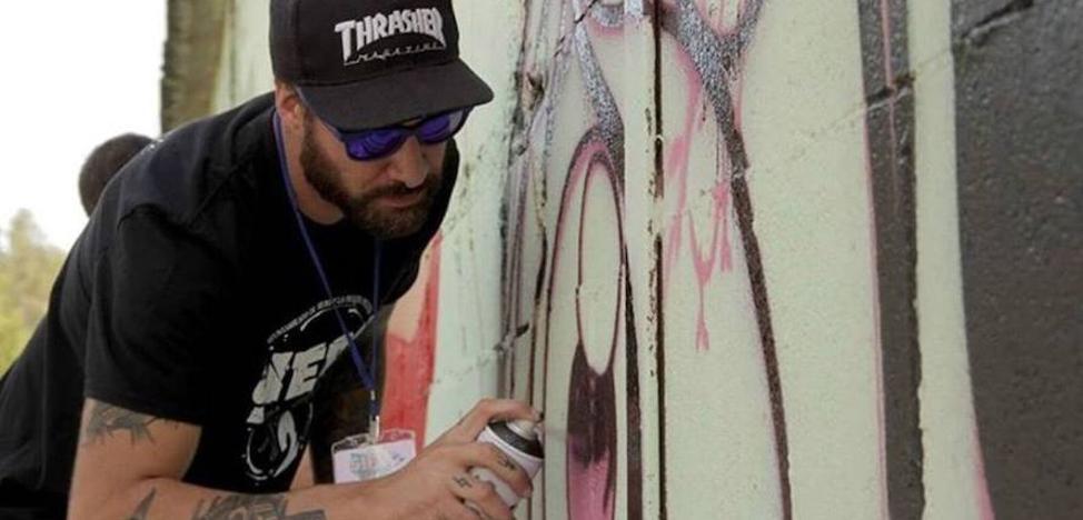 Metrópoli se sube al graffiti