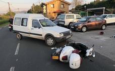 Accidente en la carretera Piles-Infanzón