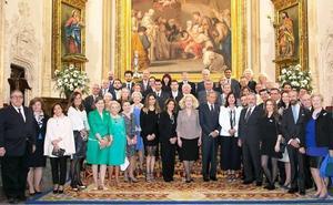 El Cuerpo de la Nobleza de Asturias entrega sus Medallas de Honor