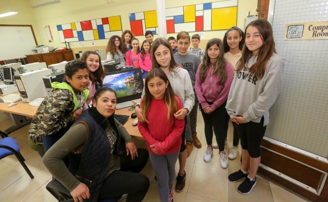 Diana busca talento femenino para la tecnología en el colegio de Llaranes