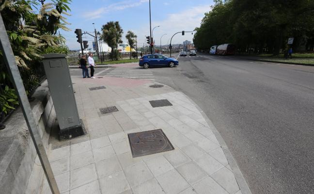 La avenida de Los Telares estrena aceras