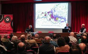 Somos, IU y Ganemos proponen que se estudie soterrar la Arteria del Puerto